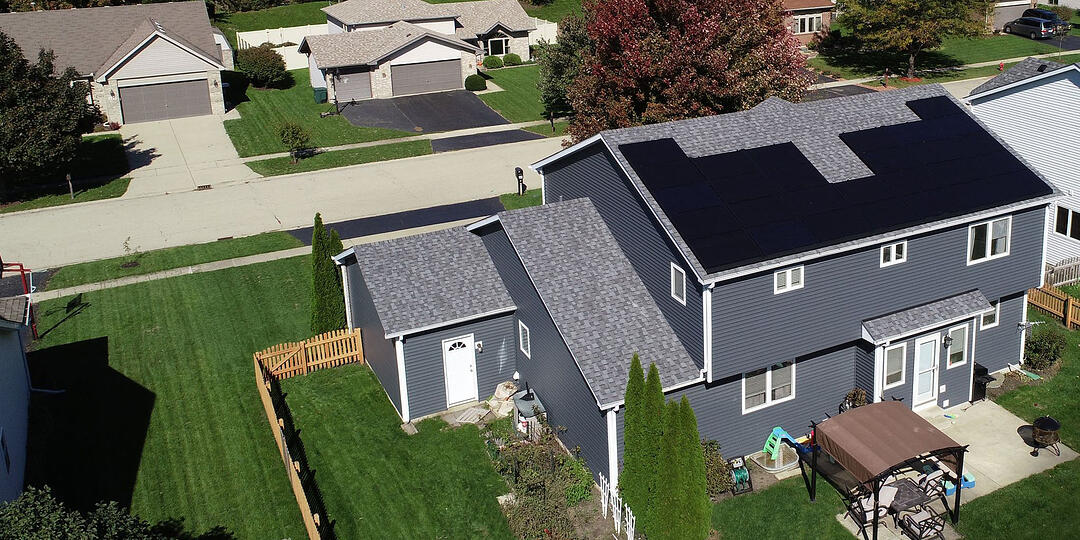 Peoria Illinois Solar Panel Install