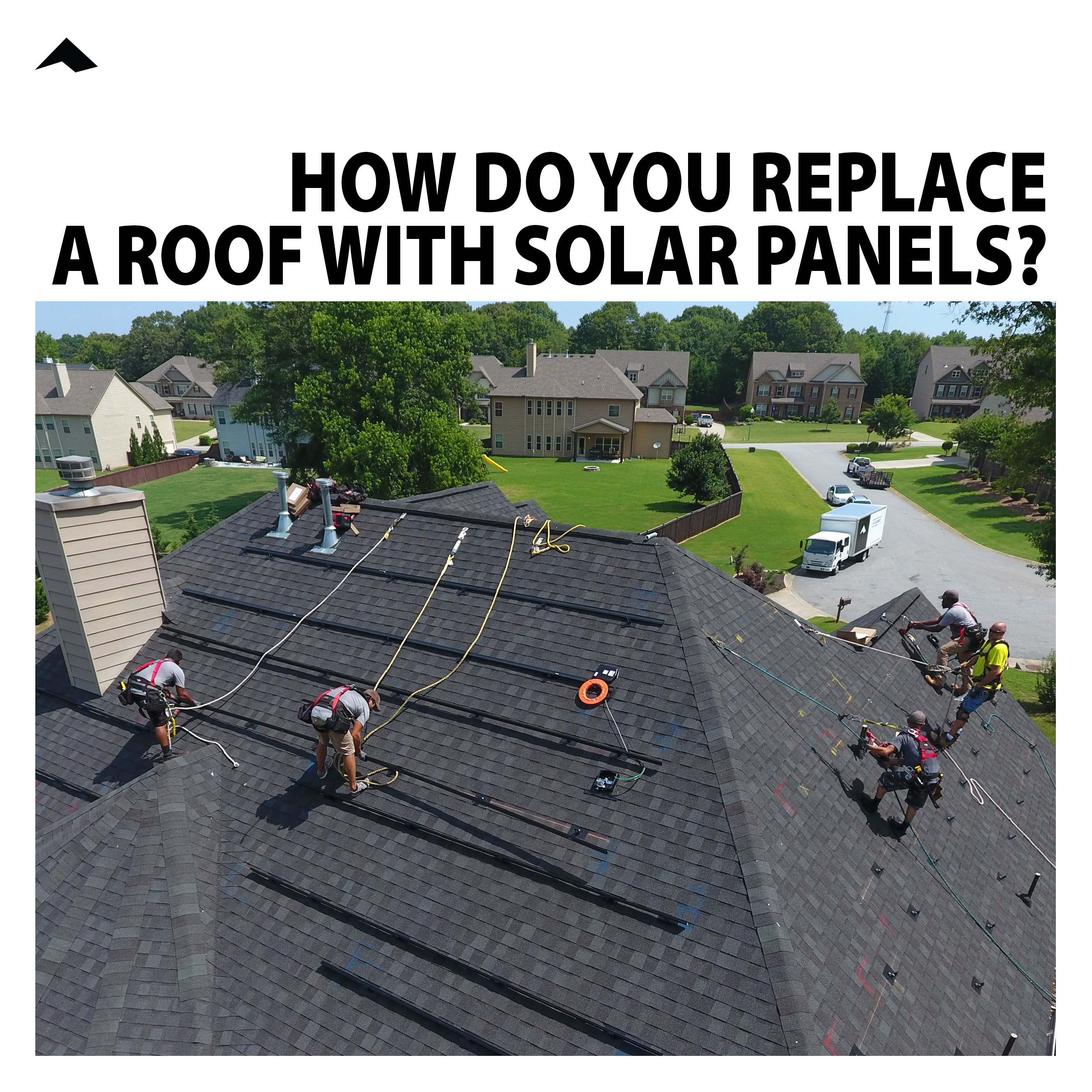 How Do You Replace a Roof with Solar Panels?